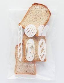 冷凍保存袋 (食パン)