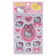 Hello Kitty reflection seal (Ribbon) Sanrio online shop - official mail order site