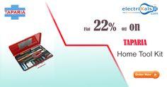 Flat 20% Off On Taparia Home Tool Kit Online @ electrikals.com