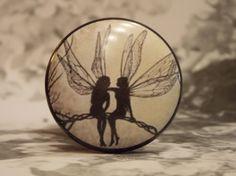 1-1/2 Fairy Dresser Knobs  Fairy BFF van dynastyprints op Etsy
