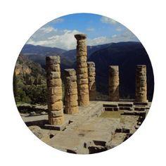 Temple of Apollo – Delphi Set Of Poker Chips