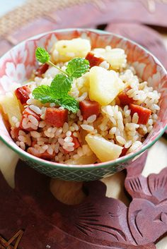 Spam & Pineapple Teriyaki Fried Rice