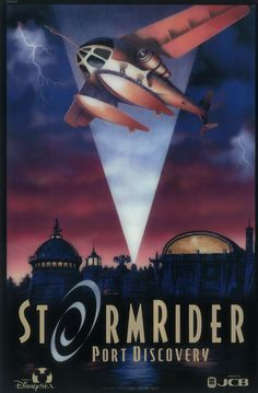storm rider port discovery poster | Riding Out the Storm at Tokyo Disney Sea