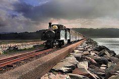 Crossing the Cob - Porthmadog,UK