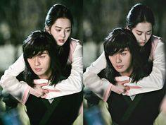 """Hwarang"" Park Seo-joon gives Ko Ah-ra piggy back @ HanCinema :: The Korean Movie and Drama Database"