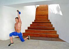 A killer cardio kettlebell workout.