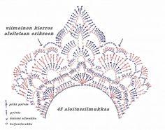 ripaus tunnelmaa: virkattu kaulakoru (ohje) Russian Crochet, Knit Crochet, Crochet Patterns, Knitting, Diy, Madness, Crocheting, Jewelry, Google