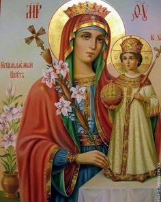 Blessed Mother Mary, Blessed Virgin Mary, Catholic Art, Catholic Saints, Religious Images, Religious Art, Hail Holy Queen, Holly Pictures, Church Icon