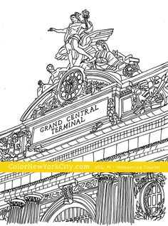 FREE NYC COLORING PAGES