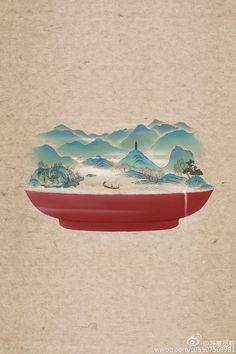 长安月 — Summer ice dessert that is made of chinese.