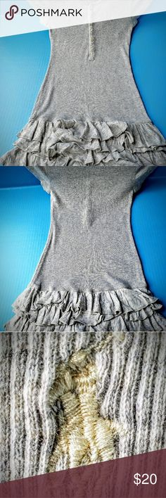 St Louis Cardinals knit Dress Sz12 Months By Genuine Merchandise Blue Tulle trim