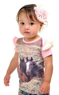 All the Pretty Horses tee www.rockyourbaby.com