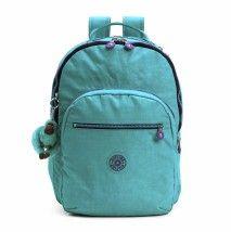 Kipling Seoul Laptop Backpack - Cool Turquoise #kipling #ss16 #fashion