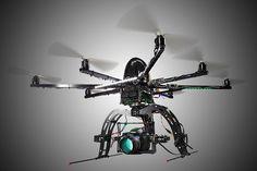 Mit dem Octocopter filmt das Marks Team aus schwindelnder Höhe und das ganz ohne Helicopter. Marks ist Ihr Partner für Luftaufnahmen in Heilbronn.