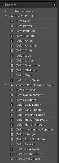 Happy Friday everyone! Adobe released their latest version of Lightroom this week - Lightroom 4 is now available! There's been a lot of talk in the industry regarding the new version of Lightroom substantially changing how your current presets ...