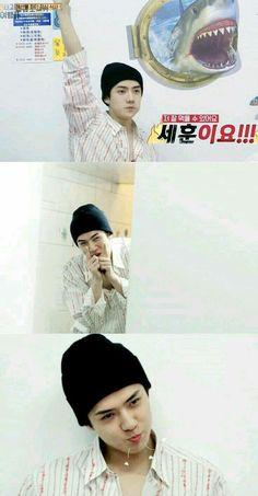Kyungsoo, Chanyeol, Exo Kokobop, Hunhan, Exo Ot12, Exo Kai, Cute Bunny Pictures, Sehun Cute, Xiu Min
