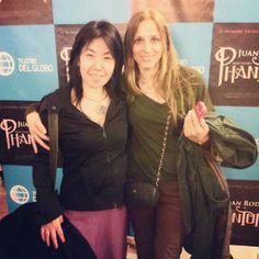Con Mari en el #estreno de #Phantom