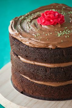 Cupcakes Are My New Love: Chocolate Layer Cake