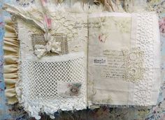 Shabby Cottage Studio - Blog - My First All Fabric Journal