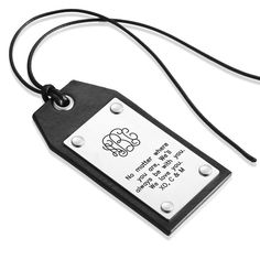 The How to Book Luggage Tag 3D Print Leather Travel Bag ID Card Free-2 Tie-Dye