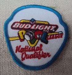 "Iron-On Patches /""BUD/"" Budweiser/"" /""Discovery Reserve/"""