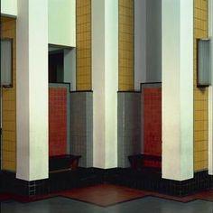 Interior Haags Gemeentemuseum, The Hague, Netherlands (1935) Berlage