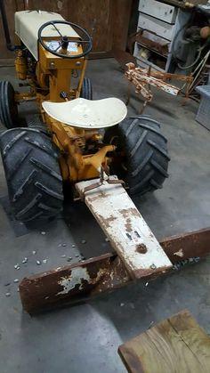 Perfect ! Lawn Tractors, Small Tractors, Cub Cadet Tractors, Garden Tractor Pulling, Garden Tractor Attachments, Homemade Tractor, International Tractors, Antique Tractors, Case Ih