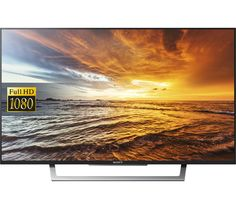 "SONY  BRAVIA KDL43WD754BU Smart 43"" LED TV Price: £ 369.00 Top features: - Full HD visuals with image processing - Smart TV with catch-up and internet access - Slim and streamlined design Full HD The KDL-43WD754BU boasts a 43"" LED backlit screen with X-Reality PRO technology to create stunning picture quality and better clarity no matter what you're watching. With noise reduction technology..."