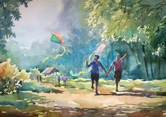 indian artist watercolour - Google Search