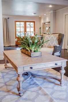 Fixer Upper Midcentury Asian Ranch Goes French Country
