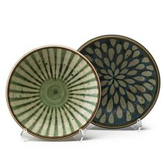 HARRISON McINTOSH (b.1914)Two glazed stoneware bowls, Claremont, CA