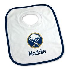 6b6bd8ff4 Keep your future NHL star clean with our Personalized Buffalo Sabres Bib. Young  fans will love to wear their Buffalo Sabres pullover bib.