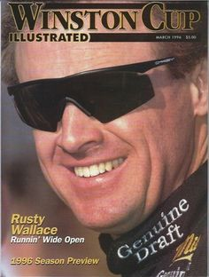 March 1996 Winston Cup Illustrated Magazine Rusty Wallace Cover | eBay Rusty Wallace, Tony Stewart, Good Ole, Magazine Covers, Nascar, Vintage Cars, Race Cars, March, Racing