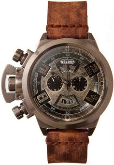 justthedesign: Welder K24 3600 Men's Watches | Vintage Distressed Collection