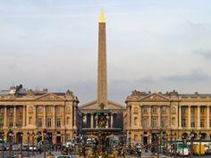 Place de Concorde - Se balader à Paris