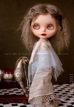 "ART blythe ""RUSSIAN SILVER"" vintage GHOST by OlyDoll by Olydoll, via Flickr"