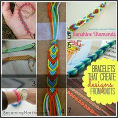 DIY: Friendship Bracelet Tutorials