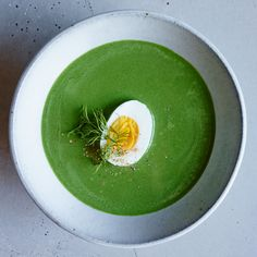 This supereasy spinach soup recipe has just three simple steps. Learn how to make it at Food & Wine.