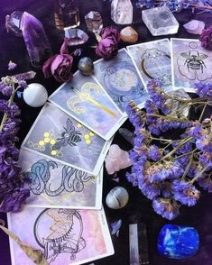 modern witch Am selben Tag Oracle Card Psychic Reading Mermaid Tarot Card Crystal Aesthetic, Purple Aesthetic, Magick, Witchcraft, Mermaid Tarot, Baby Witch, Modern Witch, Witch Aesthetic, Book Of Shadows