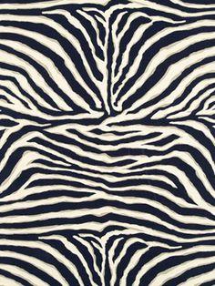 Navy Blue Animal Fabric  Animal Upholstery by PopDecorFabrics