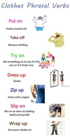 Useful Phrasal Verbs Relating to Clothes – ESLBuzz Learning English Do spend a long time picking out clothes when you go shopping? English Vinglish, English Verbs, English Sentences, Learn English Grammar, English Writing Skills, English Course, English Vocabulary Words, Learn English Words, English Phrases
