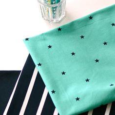 MINISTAR, Green | NOSH Fabrics Spring & Summer 2016 Collection - Shop at en.nosh.fi | Kevään 2016 malliston kankaat saatavilla nyt nosh.fi