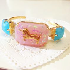 HIMITSU✡GIRL Bangle(pink*unicorn)
