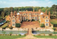 Kentwell Hall, Long Melford, England. It hosts Tudor reanactment days.