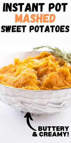 A buttery and cheesy mashed sweet potato side dish recipe that is absolutely perfect for Thanksgiving, Christmas or any holiday meal. Loaded with herbs and garlic, this mash is packed full of flavor and depth.