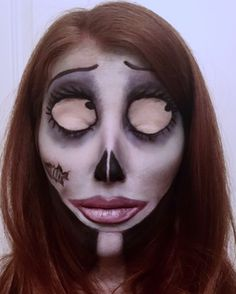 The Corpse Bride make up