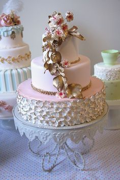 Vintage Pink ~ by The Cake That Ate Paris