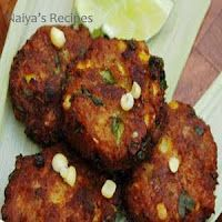Normally we are use to have veg. cutlets. But here it's a homemade recipe for Corn cutlets, a very easy and delicious recipe made from sweet corn. It can be served for breakfast as well as snacks also. A good option for starter also.