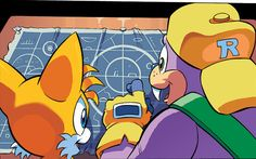 From Sonic Super Digest #7
