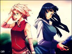 Sakura x Hinata would be pretty legit...